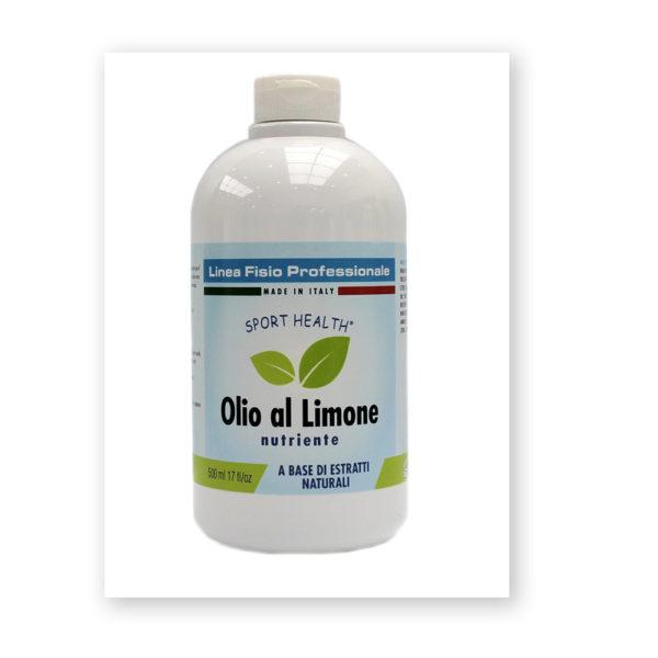 Olio al limone nutriente